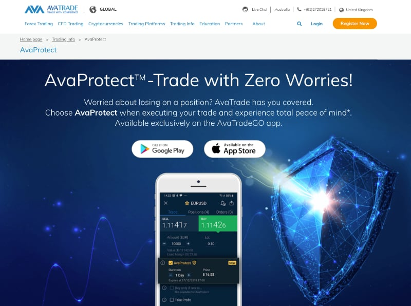 AvaProtect - Trade with Zero Worries!