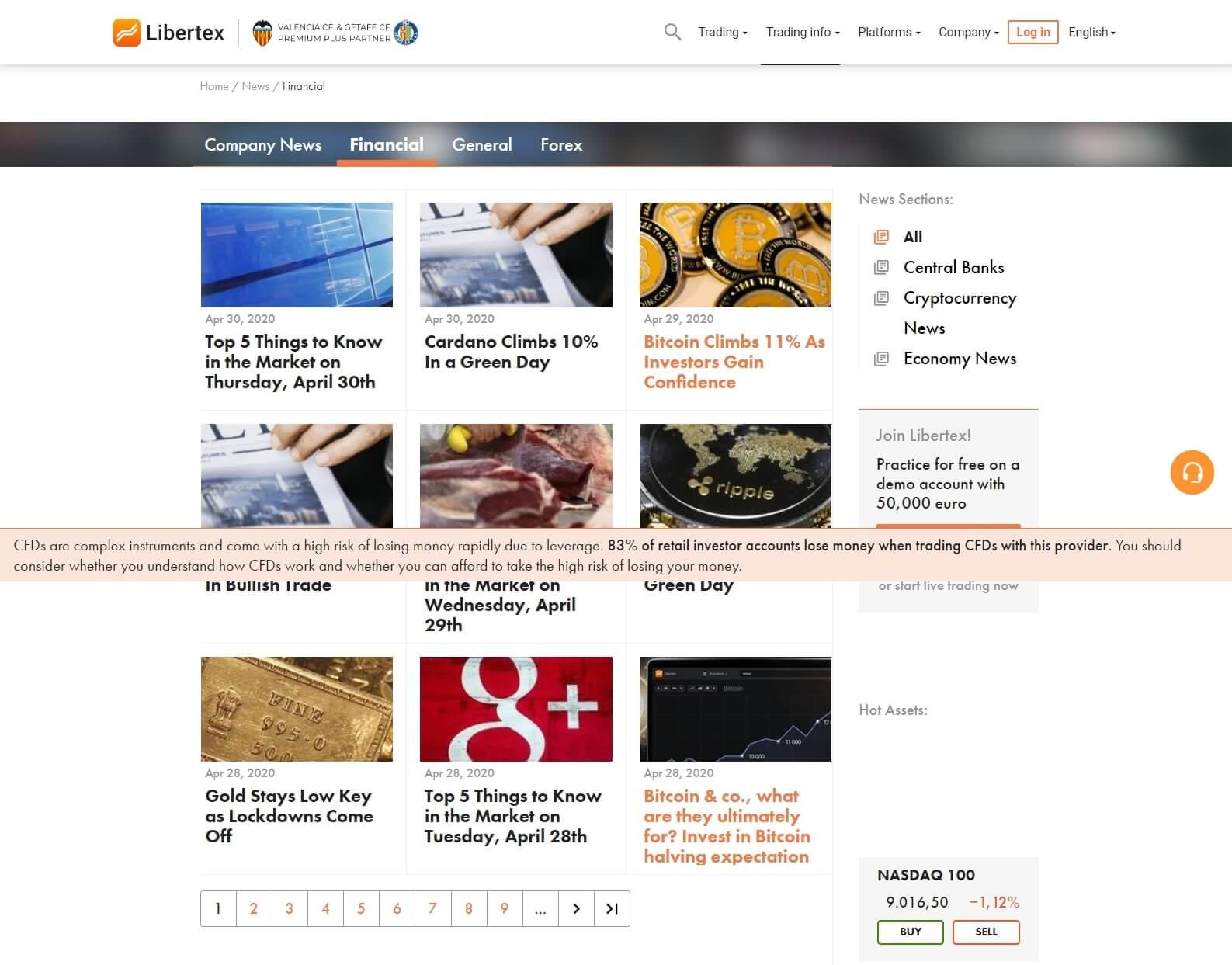 Libertex News