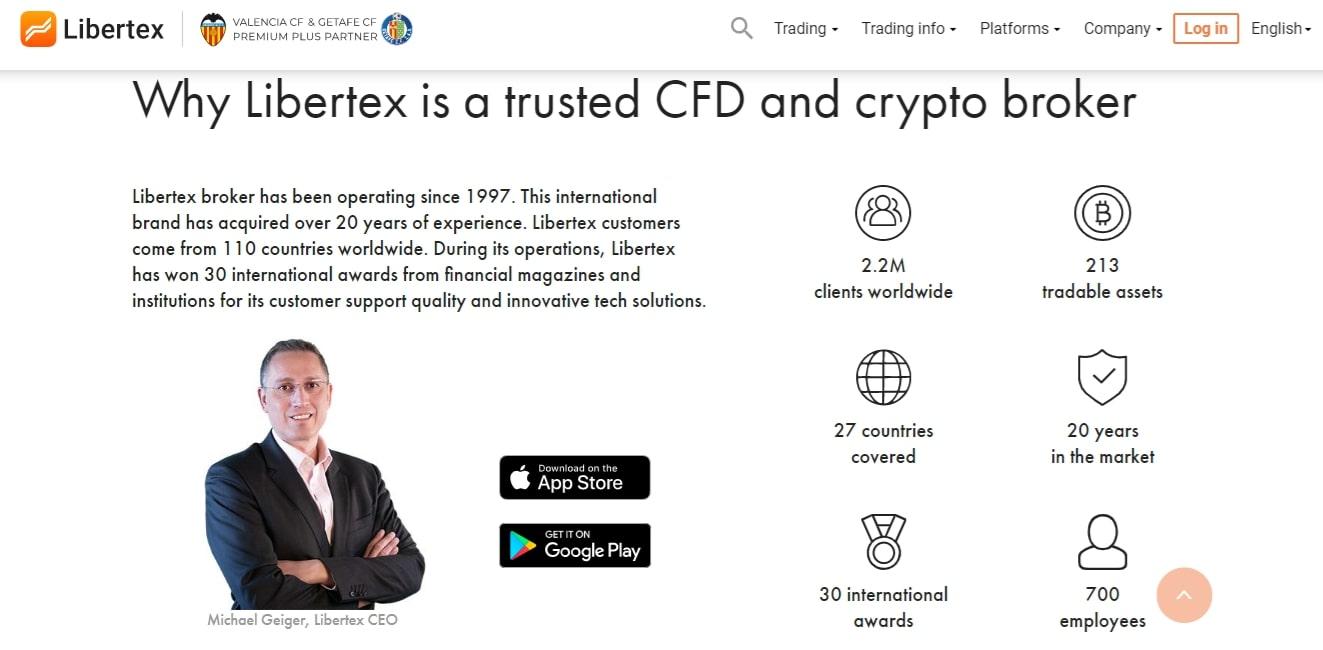 Libertex Trusted Broker