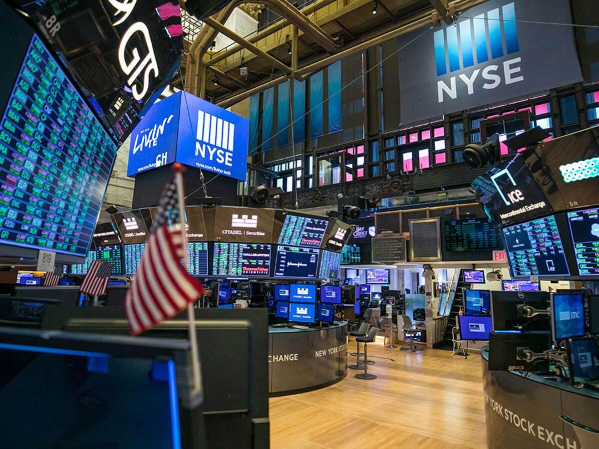 NYSE Empty Trading Floor