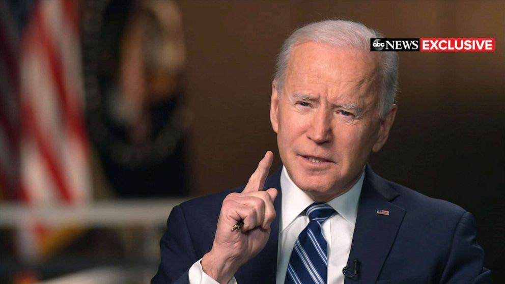 President Joe Biden interview exclusive ABC